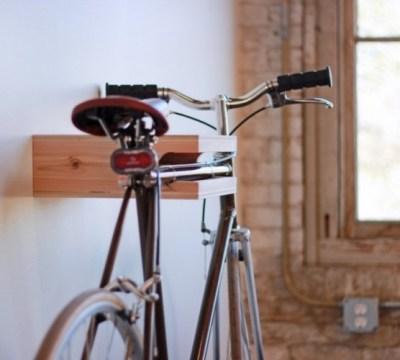fahrradhalterung für wand selber bauen - 30 ideen, anleitung