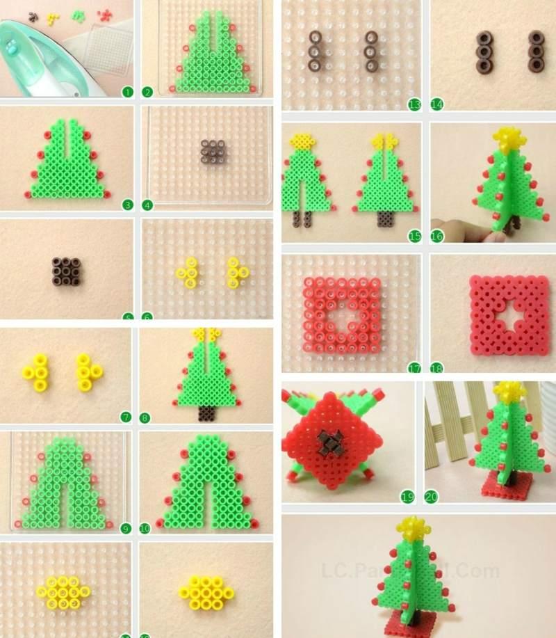 Bugelperlen Geschenkpackung Small World Tiere Midi 3506a