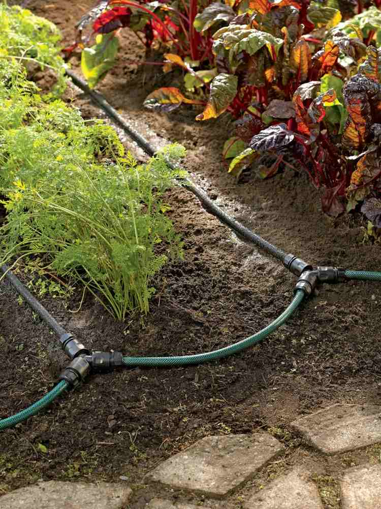 Above Ground Garden Irrigation Systems