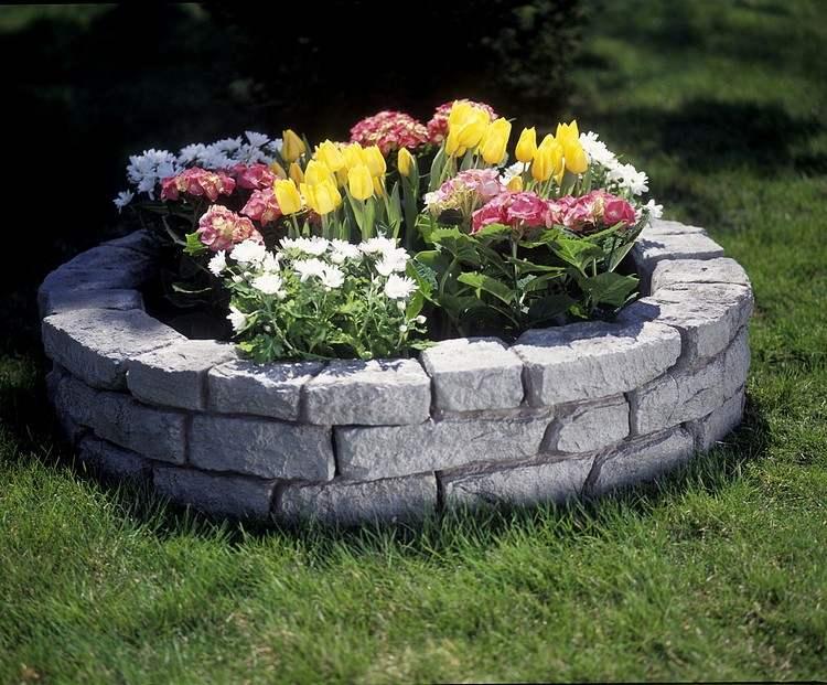Hochbeet Aus Stein Schön Und Praktisch Den Garten Gestalten