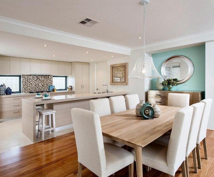 ideen kche vom wohnzimmer trennen offene kuche Offene Küche ...