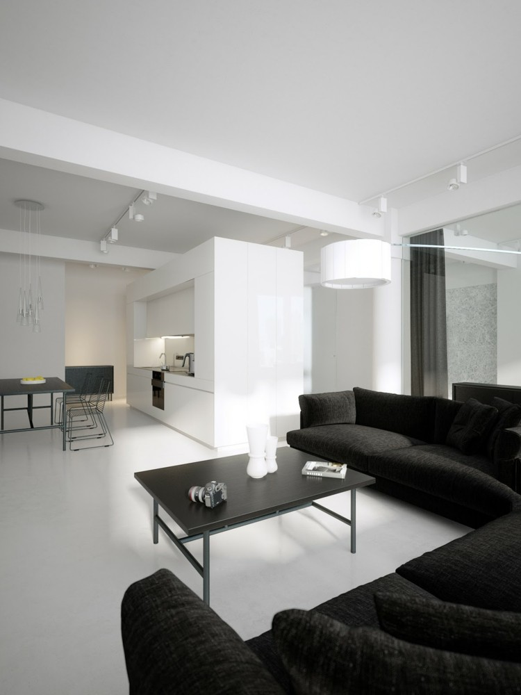 Wohnzimmer Ideen Fr Schwarzes Sofa Wie Richtig Kombinieren
