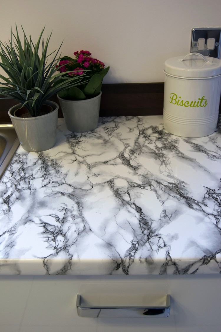 Granit Folie Arbeitsplatte