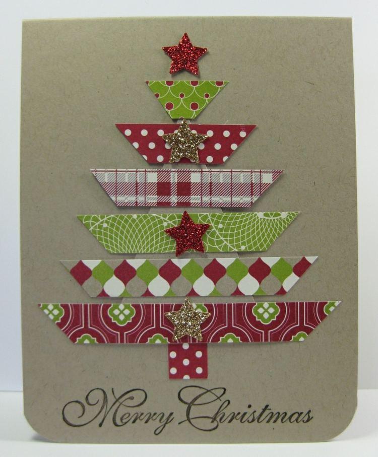 Stampin Up Zu Weihnachten 3D Weihnachtskarten