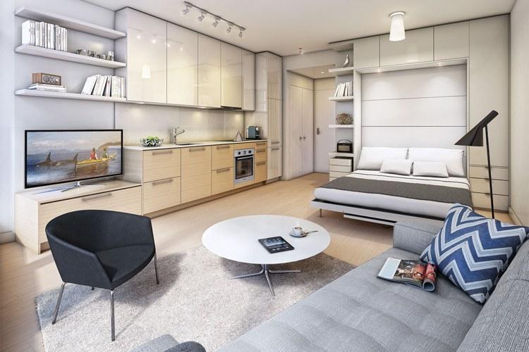 Kleine Wohnung einrichten - 30 Ideen für optimale Raumnutzung
