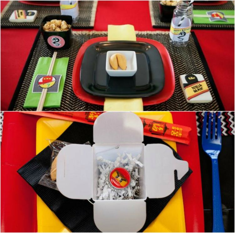 Ninjago Birthday Party Lego Birthday Party Fun Birthday Party