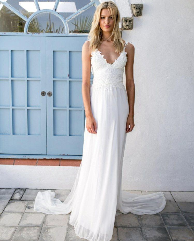Boho Style Hochzeitskleider Schweiz Maleana