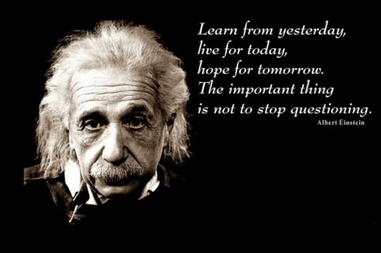 Albert Einstein Zitate Spruche Weisheiten Zu