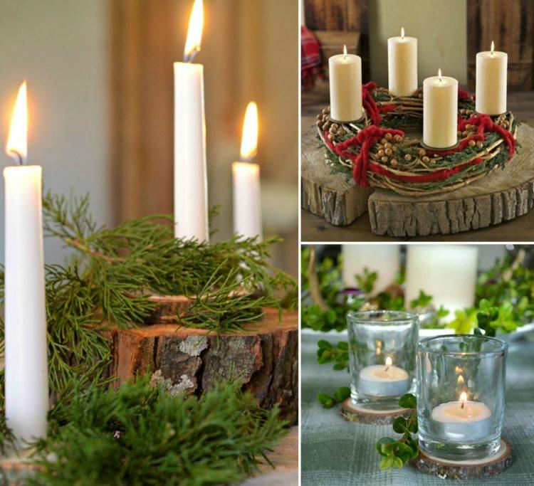 Adventskranz holz rustikal – Weihnachtsgeschenke 2019
