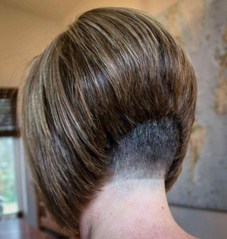 Undercut Frau Nacken Offene Haare 23 Einzigartig Frisuren