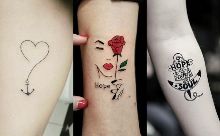 1001 Ideen Und Modelle Fur Schone Kleine Tattoos Beautiful
