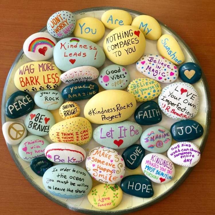 Steine Bemalen Mit Kindern Viele Bezaubernde Motive