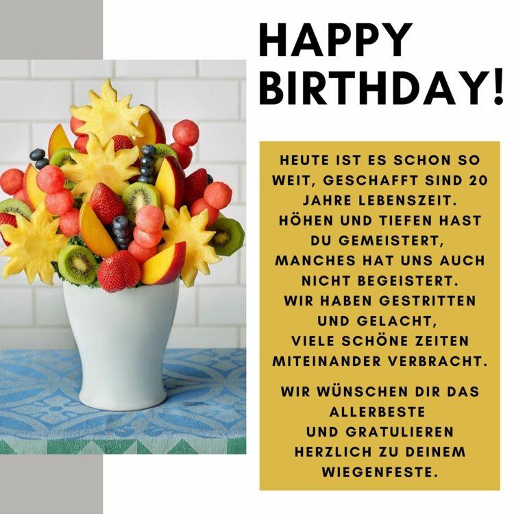 20 Geburtstag Geschenk Fur Das Geburtstagskind