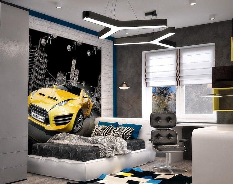 moderne chambre ado