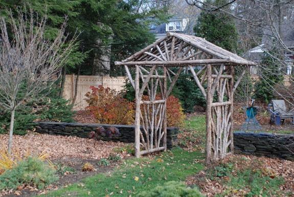 Comment Construire Une Pergola En Bois Brut Pour Le Jardin