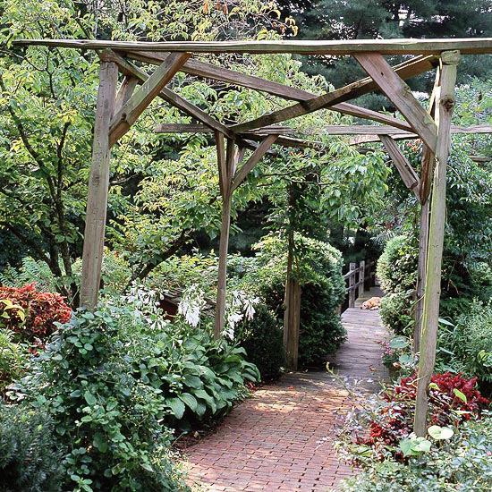 Pergola De Jardin En Bois 20 Super Ides De Design