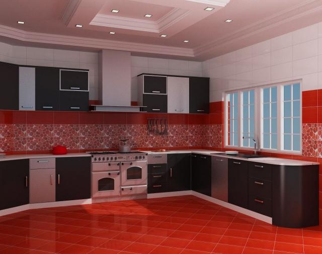 Kitchen Backsplash For Red Walls. red kitchen. kitchen red kitchen ...