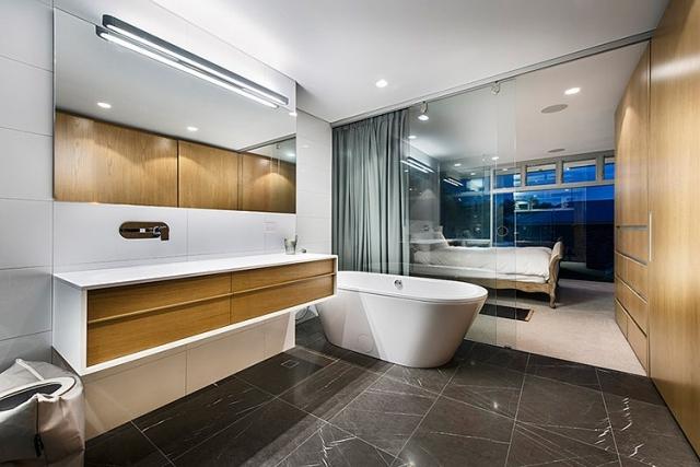 carrelage de salle de bains la