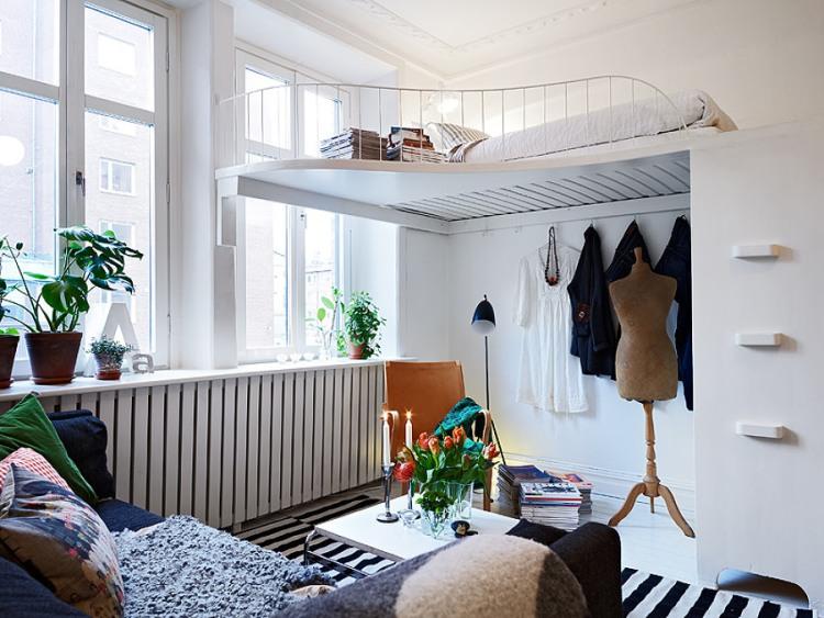 Gallery Of Lit Escamotable Plafond Moderne Pour Plus