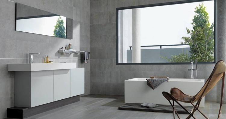 salle de bain grise 30 idees sympas pour votre maison moderne
