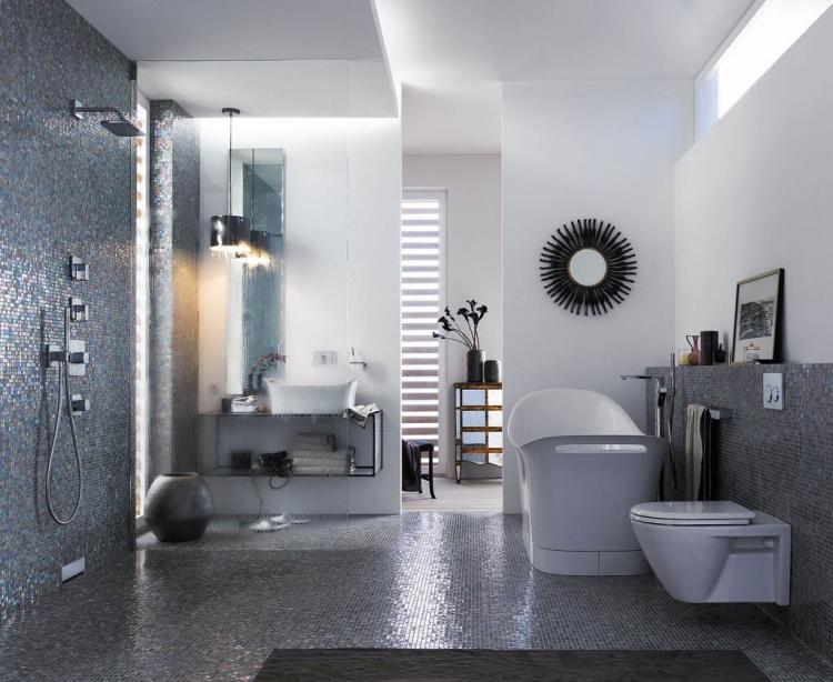 Salle De Bain Grise 30 Idees Sympas Pour Maison Moderne