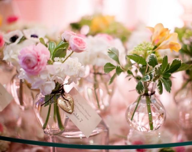 Deco Table Fleurs Naturelles