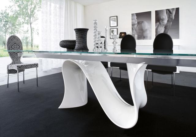 table salle a manger moderne 30 idees originales