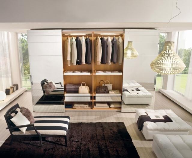 Garde Robe De Chambre Coucher Pour Optimiser Rangement