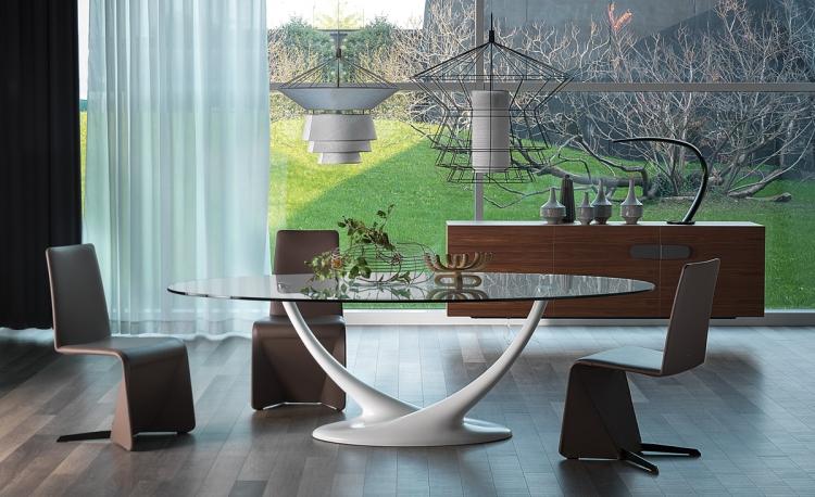 salle a manger de design italien