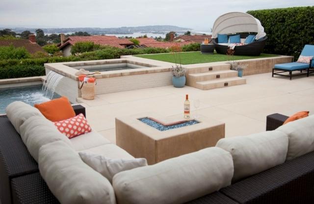 Canap Pour Terrasse Awesome Canap Places Pour Terrasse Et