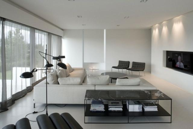 Dcoration Et Design Du Salon Moderne En 107 Ides Superbes