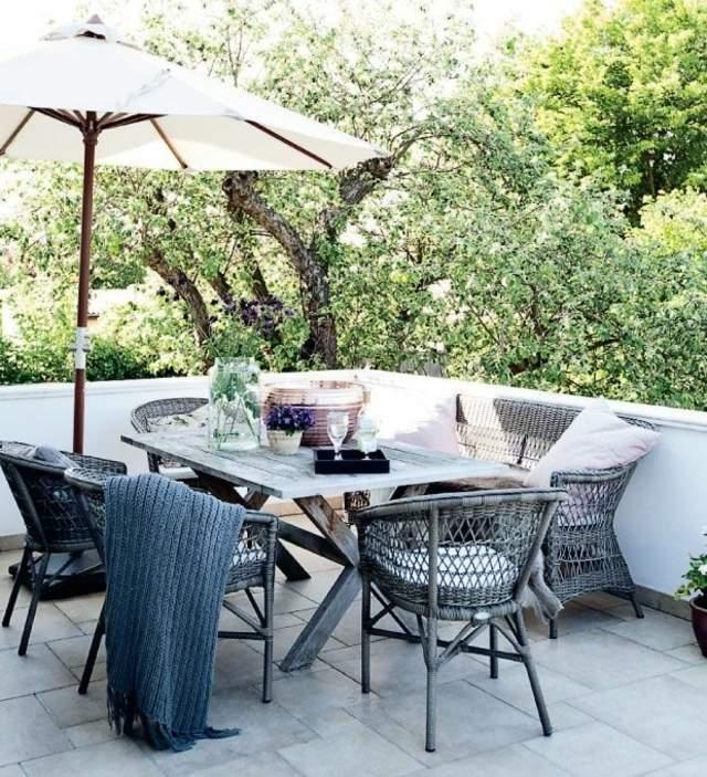 Meubles De Jardin Plus De 70 Ides De Coin Repas En Plein Air
