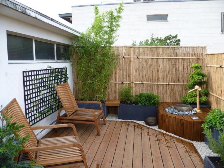 brise vue balcon plantes et paravents