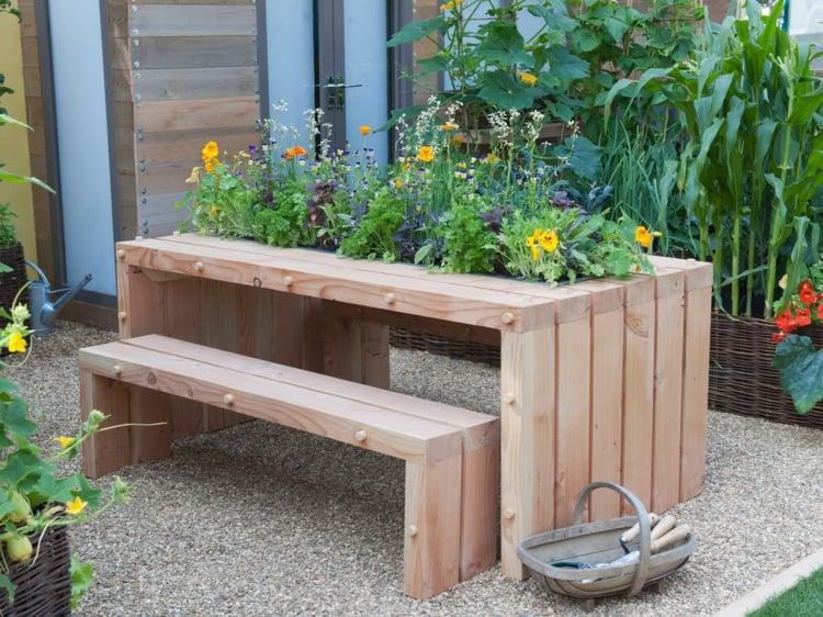 Jardinire En Bois DIY Fabriquez Vos Propres Bacs Fleurs