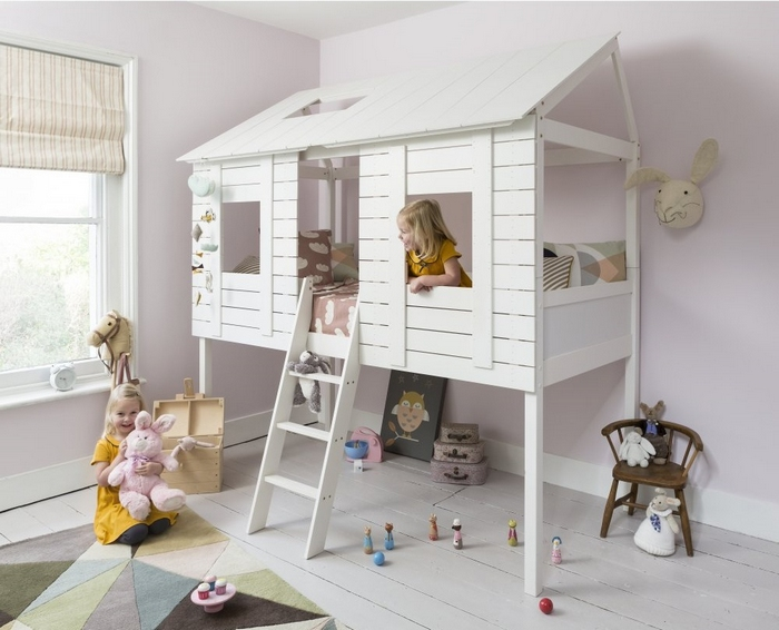 Affordable With Chambre Cabane Fille