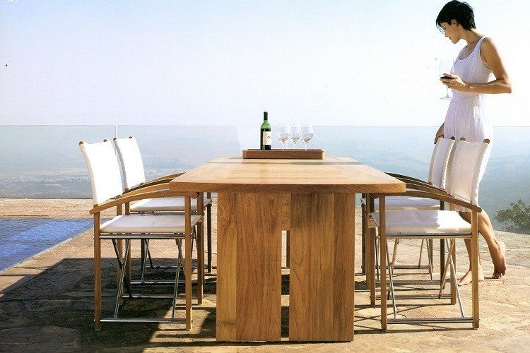 Mobilier De Jardin Teck Perfect Table De Jardin Teck