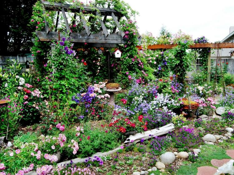 Idées De Bordure De Jardin En Pierre, Bois Et Métal