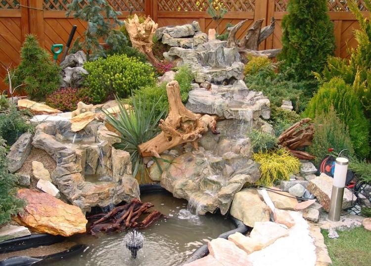 cascade bassin de jardin 27 idees