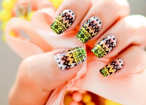 Motif Deco Ongle Nail Aztec Art Cool For Your Nails Www