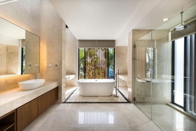 salle de bain moderne en 90 idees d