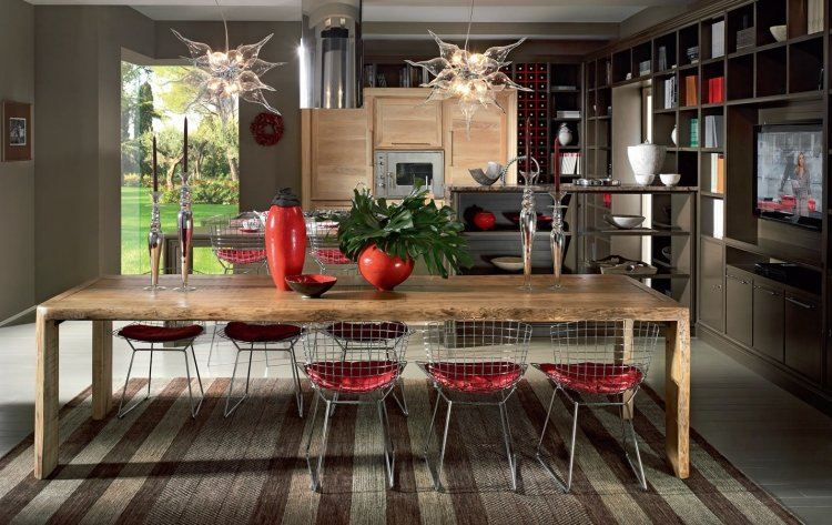 Table De Salle Manger En Bois Massif 29 Designs Modernes