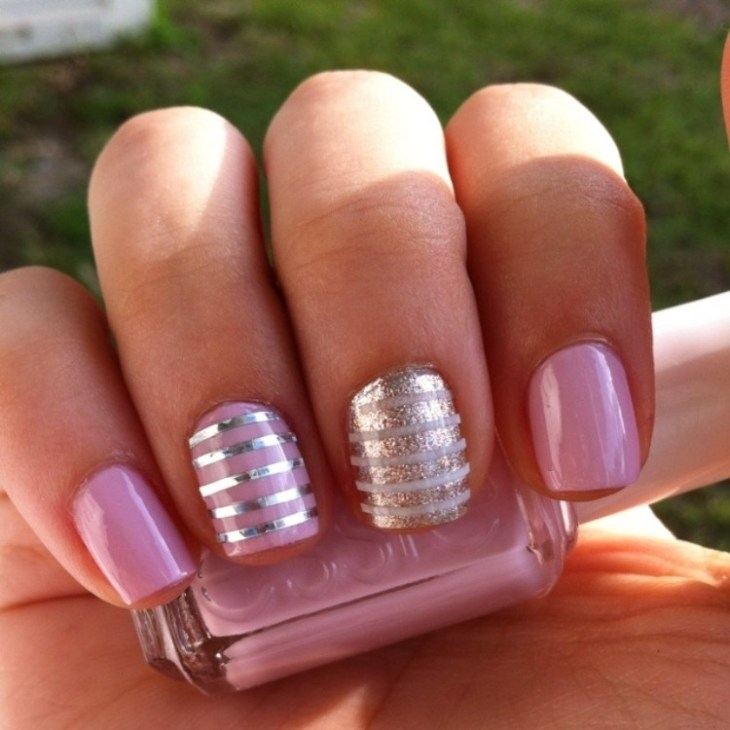 deco-ongles-bande-de-striping-tape-argente-vernis-paillettes