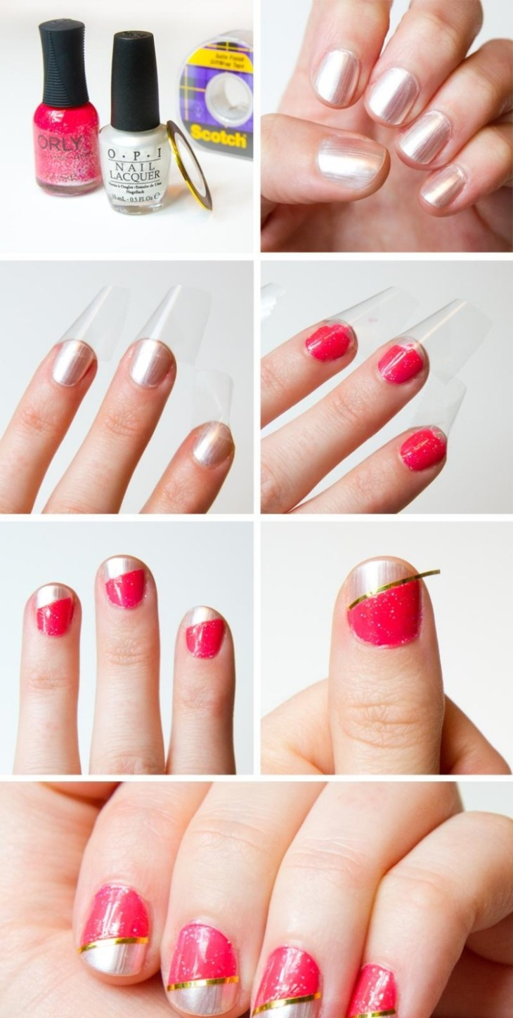 deco-ongles-bande-de-striping-tape-rose-fuschia