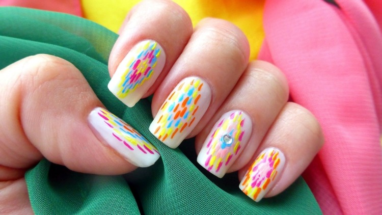 Nail Art Simple Et Chic En 30 Idees Inspirantes Et Faciles A Imiter