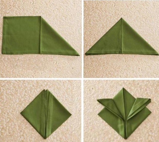Pliage Serviette En Tissu Ou Papier 40 Idees Deco