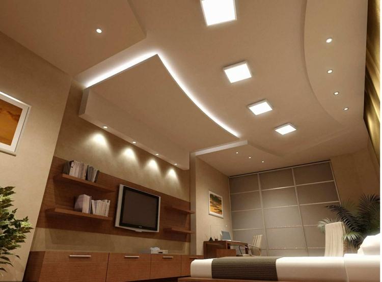 Clairage LED Et Types De Luminaires Dans Le Salon Parfait