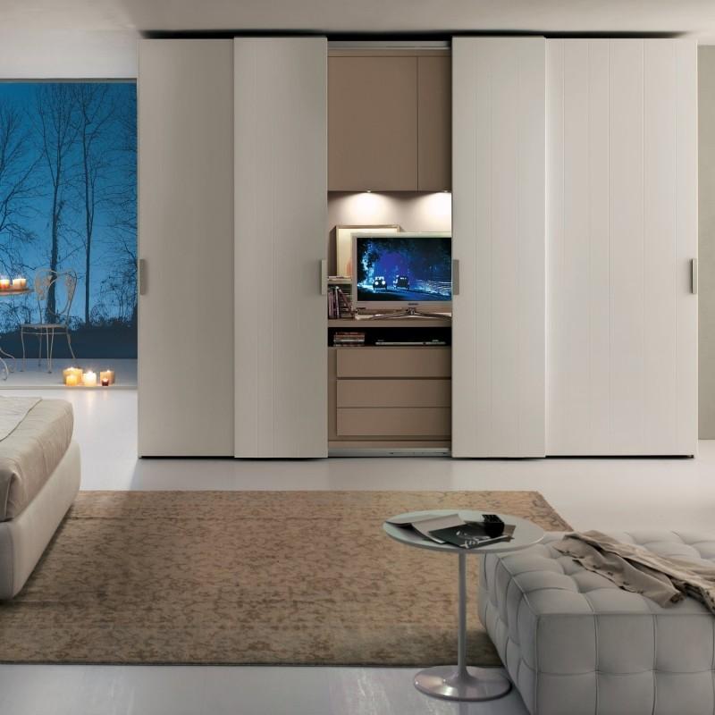 Armoire Blanche Dans La Chambre Coucher 25 Designs
