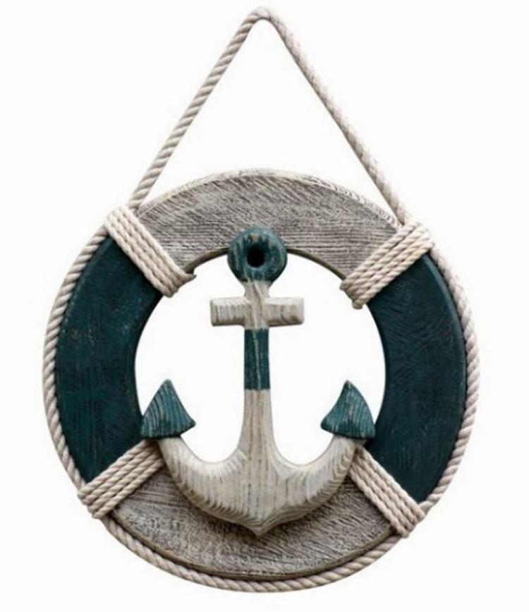Dcoration Marine Avec Boue De Sauvetage 26 Ides
