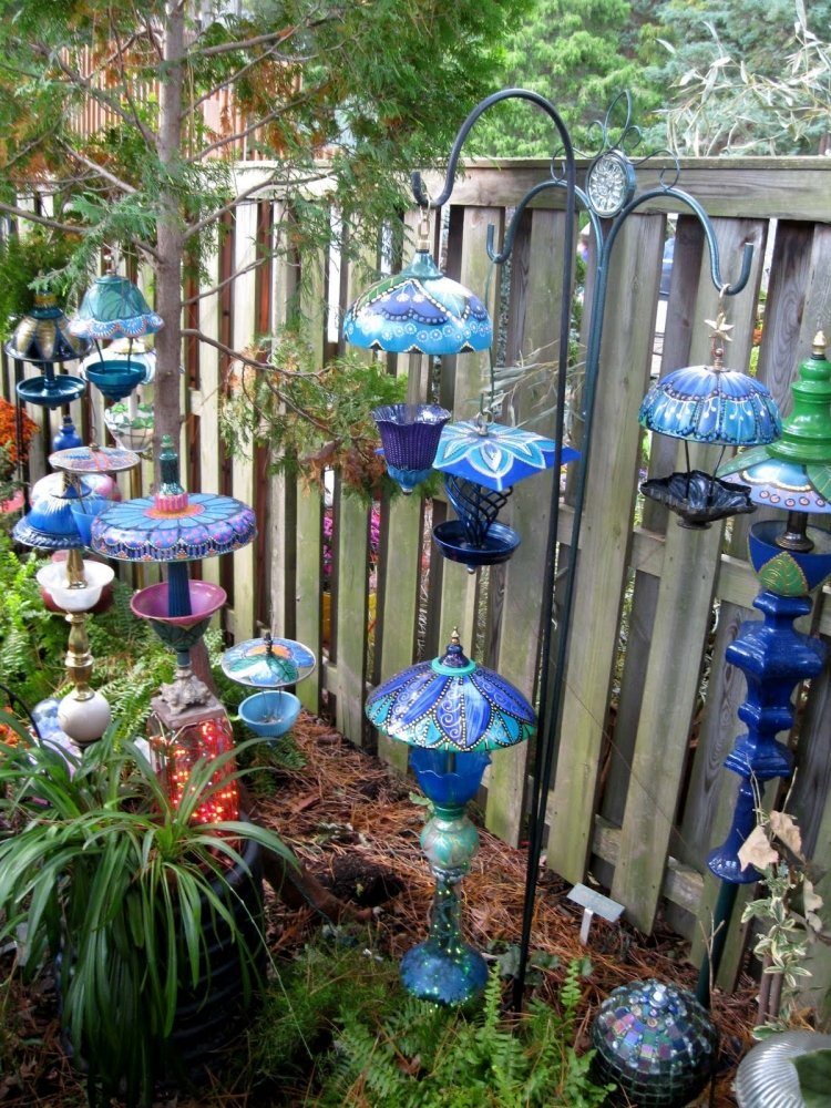 Solar Garden Ornaments Outdoor Decor