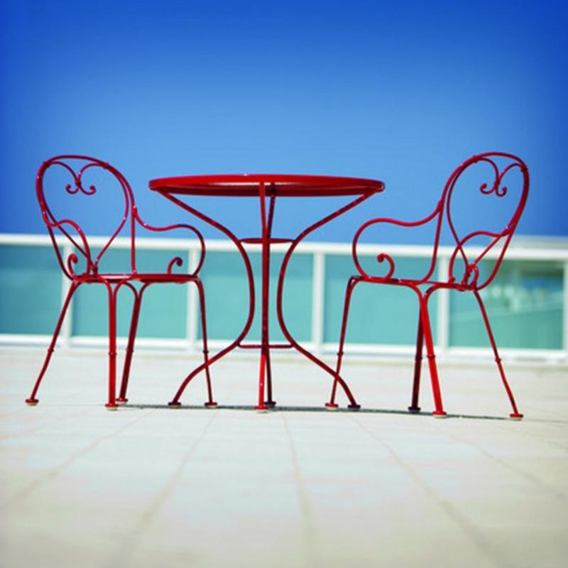 Table Et Chaises De Jardin En Fer Forg Rinventons Le Style